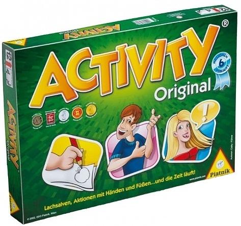 Настольная игра ActivityНастольная игра Activity &amp;ndash; игра компанейская, командная, а играть в нее может от 4 человек до&amp;hellip;.до того количества, которое способно вместить место, где вы ее разложите.<br>