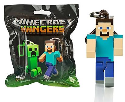 Брелок Minecraft (7 см) (в ассортименте)Вторая серия фигурок-брелоков по популярной игре Minecraft!<br>