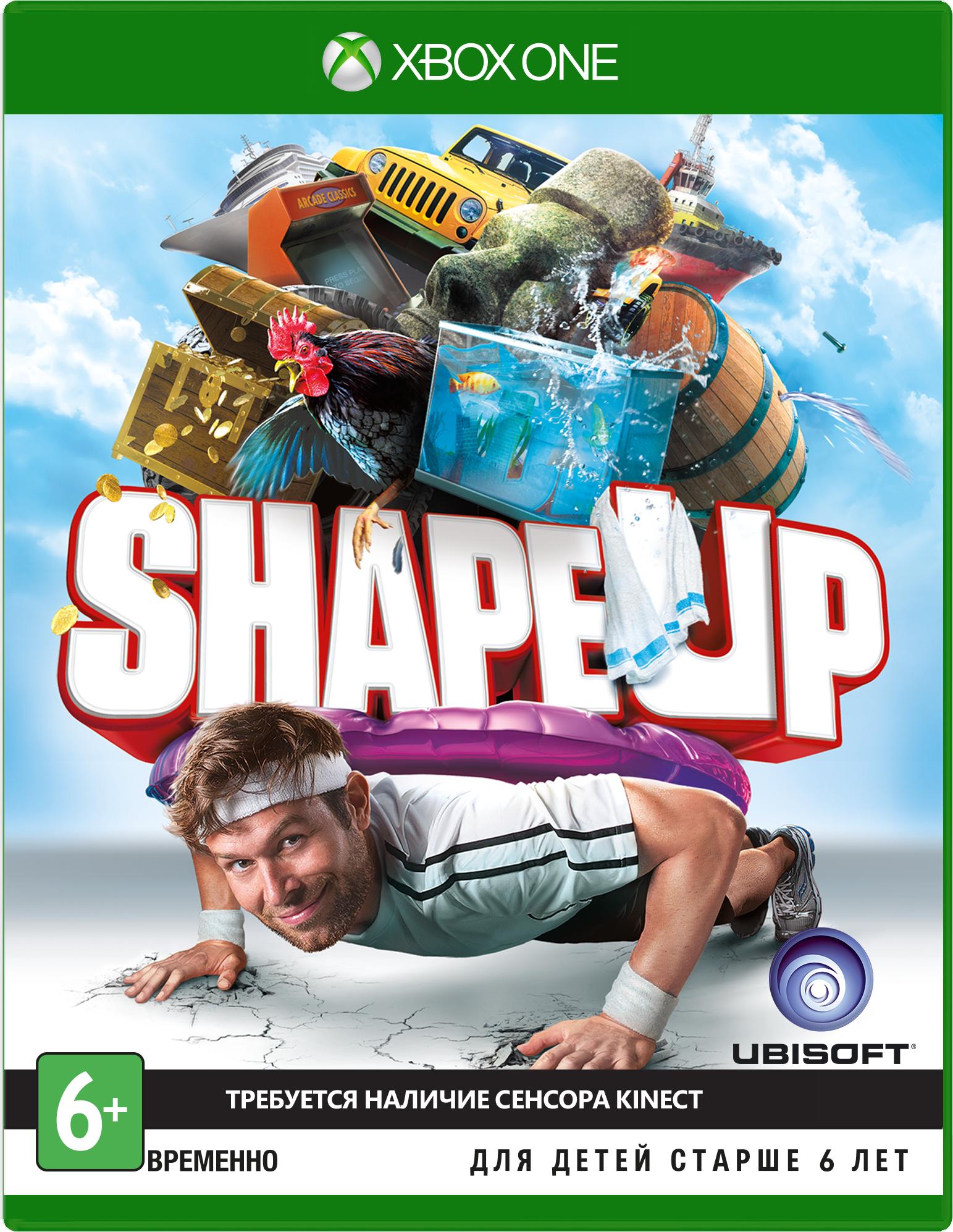Shape Up (только для Kinect) [Xbox One]Нет времени ходить в спортзал? Надоели однообразные упражнения? Shape Up – фитнес для вас. Выполняйте полутораминутные комплексы упражнений и уникальные испытания – занятия спортом никогда не были столь увлекательны!<br>