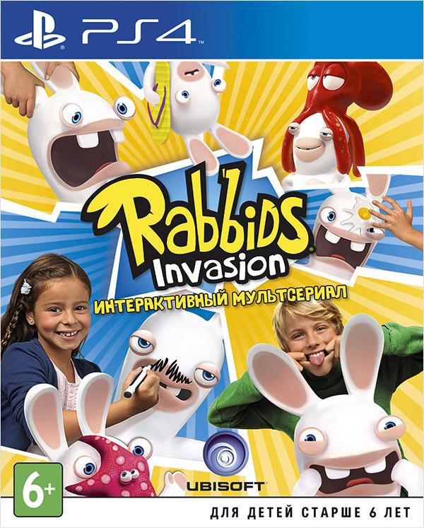 Rabbids Invasion (только для PS Move) [PS4]Rabbids Invasion, популярный детский мультсериал, становится интерактивным, перемещаясь с телевидения на игровую систему PlayStation 4.<br>
