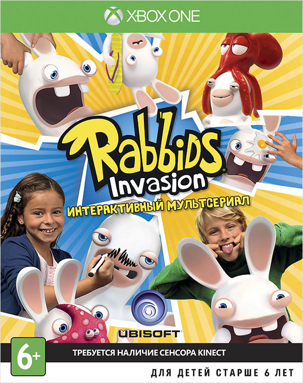 Rabbids Invasion (только для Kinect) [Xbox One] от 1С Интерес