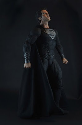 Фигурка Man of Steel. Super Man Black Suit (46 см) от 1С Интерес