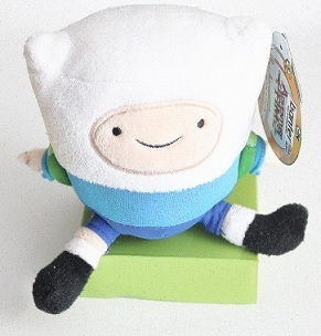 Мягкая игрушка Adventure Time. Finn мини со звуком (12 см)