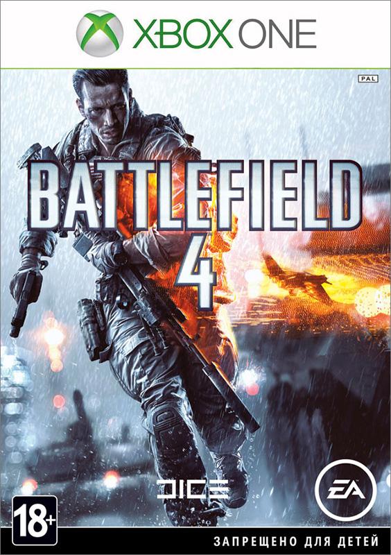 Battlefield 4 [Xbox One]Battlefield 4 &amp;ndash; это определяющий для жанра, полный экшена боевик. Основанный на мощной и надежной графической технологии Frostbite&amp;trade; 3, Battlefield 4&amp;trade; предлагает погрузиться в уникальную игровую среду, поражающую своей реалистичностью.<br>