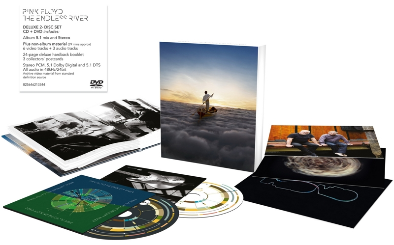 Pink Floyd: The Endless River (CD + DVD) follow the river