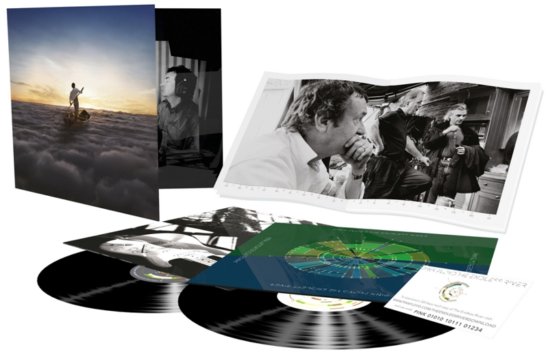 Pink Floyd. The Endless River (2 LP) the drums новый альбом