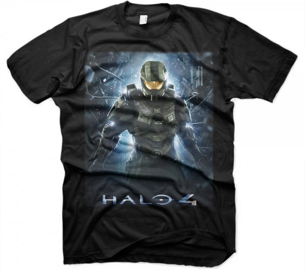 Футболка Halo 4. The Return (черная) (M)Футболка Halo 4. The Return &amp;ndash; высококачественная футболка в подарочной упаковке для настоящих ценителей компьютерных игр.<br>