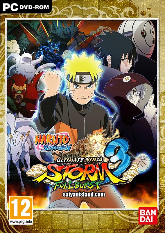 Naruto Shippuden: Ultimate Ninja Storm 3 Full Burst (Цифровая версия)В игре Naruto Shippuden. Ultimate Ninja Storm 3 Full Burst &amp;ndash; проживите жизнь, сражаясь с всемогущими боссами в эпоху 4-ой великой войны ниндзя или же бросьте вызов друзьям в динамичных онлайновых и оффлайновых сражениях ниндзя!<br>