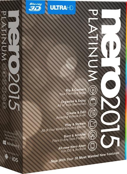 Nero 2015 Platinum [Цифровая версия] (Цифровая версия) baldinini baldinini 670403 nero nero nero
