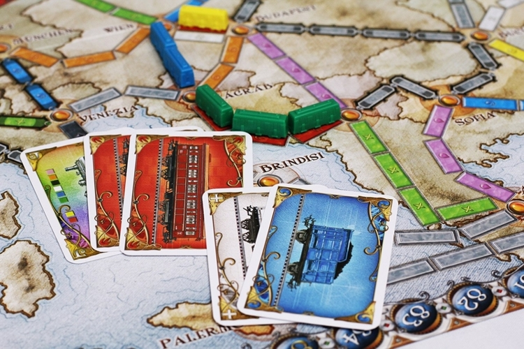 Настольная игра Ticket to Ride: Европа от 1С Интерес