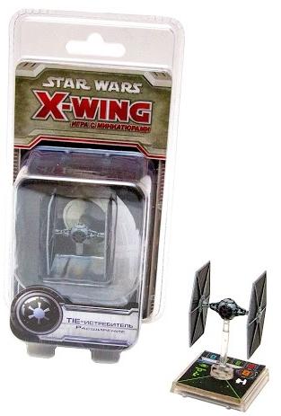Настольная игра Star Wars: X-Wing. Расширение TIE-истребительНастольная игра Star Wars: X-Wing &amp;ndash; тактическая настольная игра, которая воссоздает захватывающие космические сражения просторов Далекой-далекой Галактики.<br>