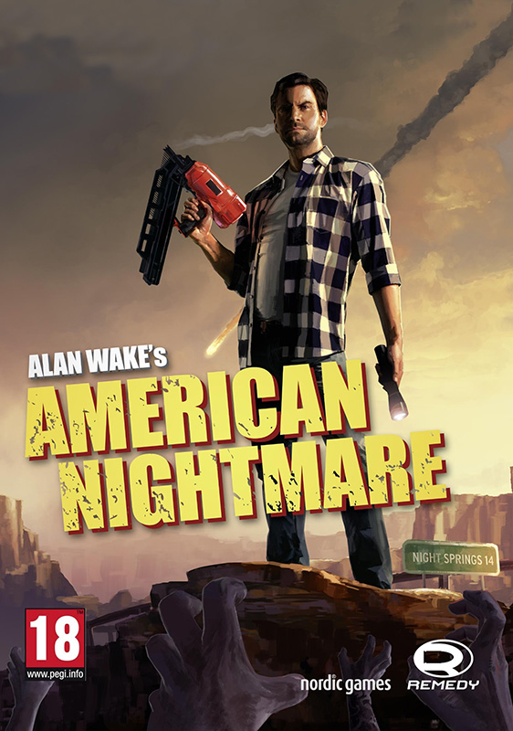 Alan Wake's American Nightmare (Цифровая версия) japanese anime one piece original megahouse mh variable action heroes complete action figure dracule mihawk