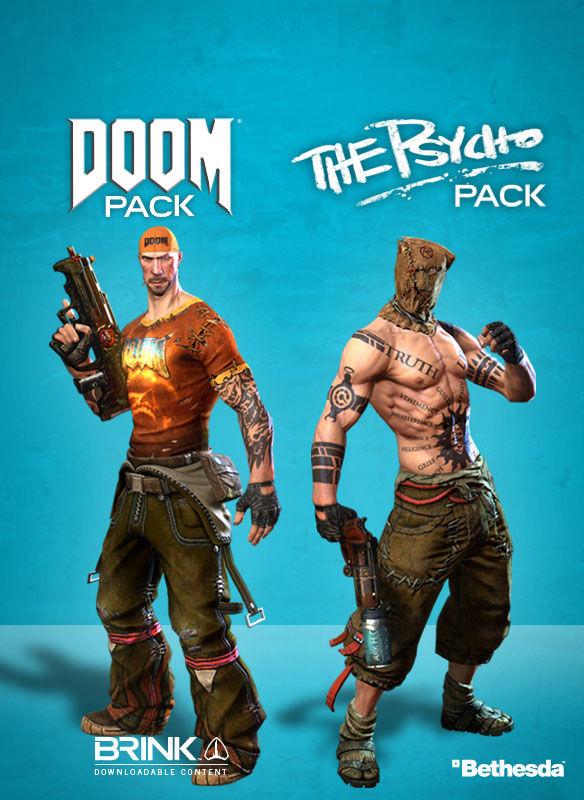 Brink. Doom / Psycho Combo Pack