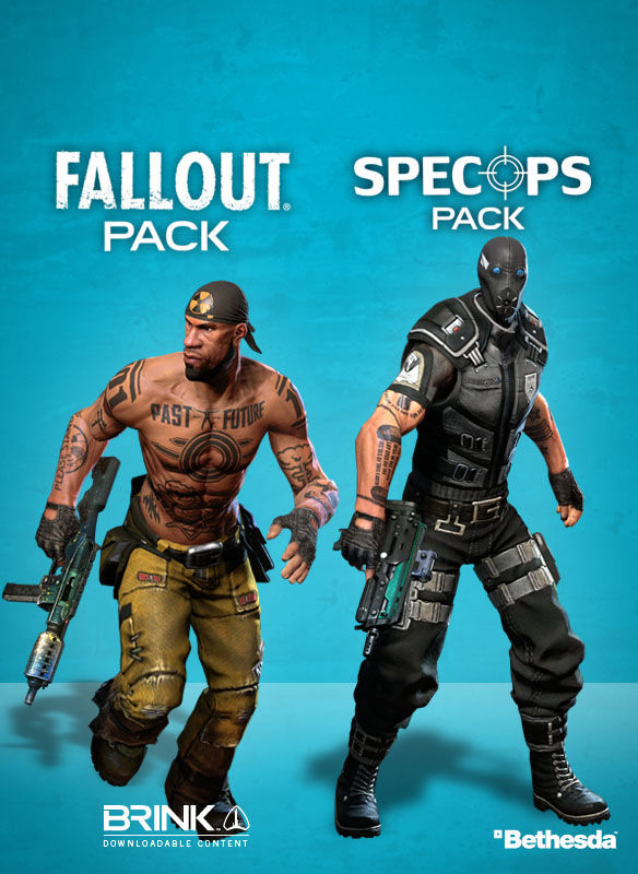 Brink. Fallout / SpecOps Combo Pack