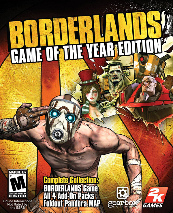 Borderlands: Game of the Year Edition [MAC, цифровая версия] (Цифровая версия) игра софтклаб the elder scrolls iii morrowind game of the year edition