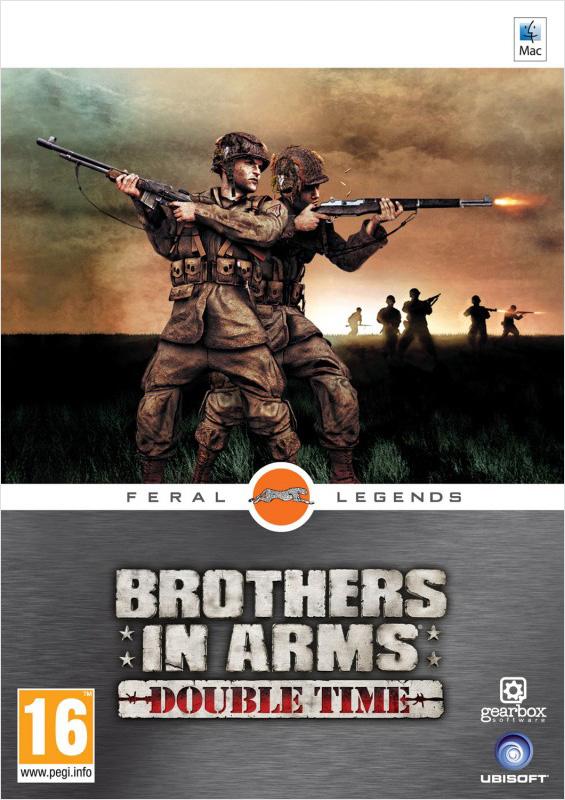 Brothers in Arms: Double Time [MAC] (Цифровая версия)Основанные на реальных событиях, два отличных экшена из известной серии Brothers in Arms перенесут вас в самое пекло Второй мировой войны.<br>