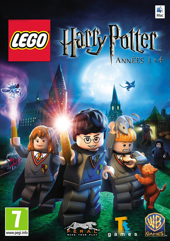 LEGO Harry Potter: Years 1-4 [MAC, цифровая версия] (Цифровая версия) 1 box harry potter candy 1 6 oz 1 bean boozled 1 2oz