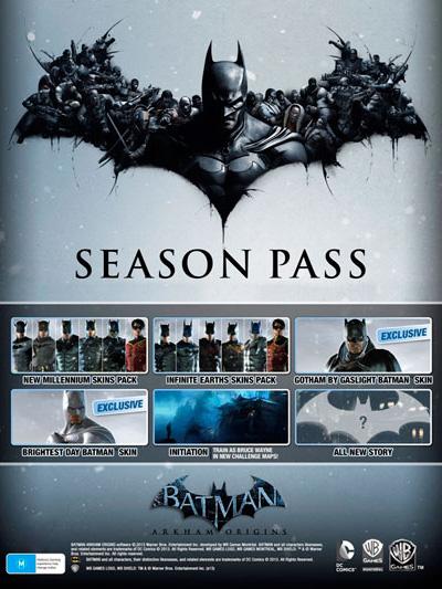 Batman: Arkham Origins. Season Pass [PC, Цифровая версия] (Цифровая версия)