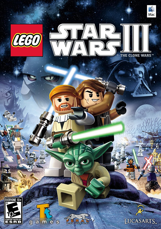LEGO Star Wars III: The Clone Wars [MAC, цифровая версия] (Цифровая версия) lno 049 267pcs star wars mini diamond building blocks