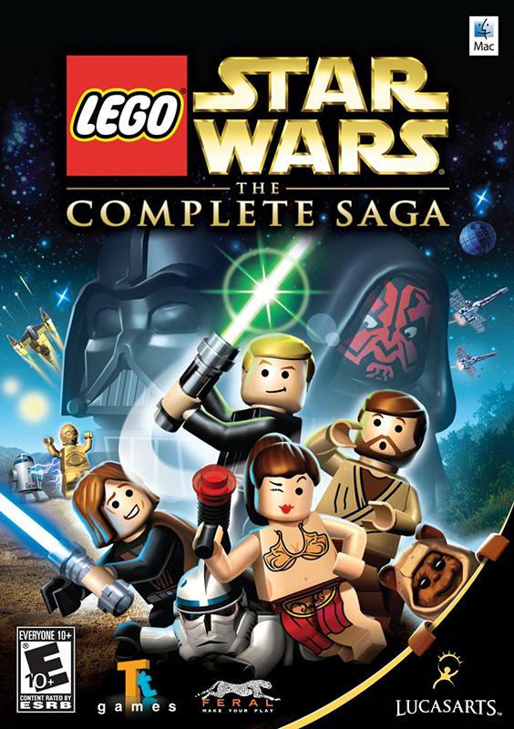 LEGO Star Wars: The Complete Saga [MAC] (Цифровая версия)Игра LEGO Star Wars: The Complete Saga сочетает в себе бесконечные возможности для творчества конструктора LEGO и культовую эпическую историю из шести фильмов серии «Звездные войны».<br>