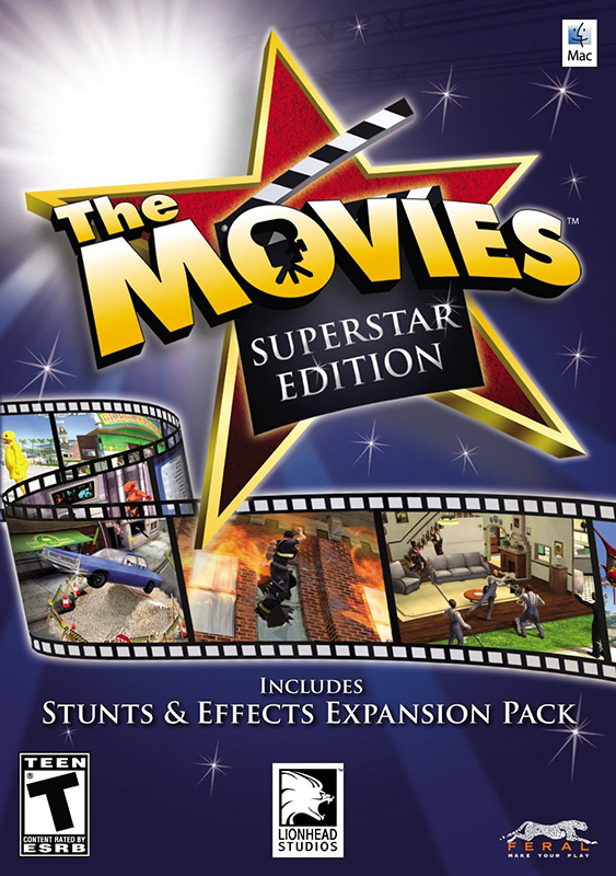 The Movies: Superstar Edition [MAC] (Цифровая версия) south park the fractured but whole gold edition цифровая версия