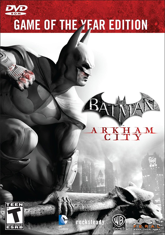 Batman: Arkham City. Game of the Year Edition [PC, Цифровая версия] (Цифровая версия) игра софтклаб the elder scrolls iii morrowind game of the year edition