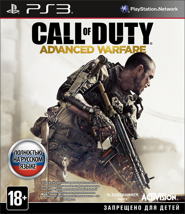 Call of Duty: Advanced Warfare [PS3] игра для ps3 call of duty modern warfare 3