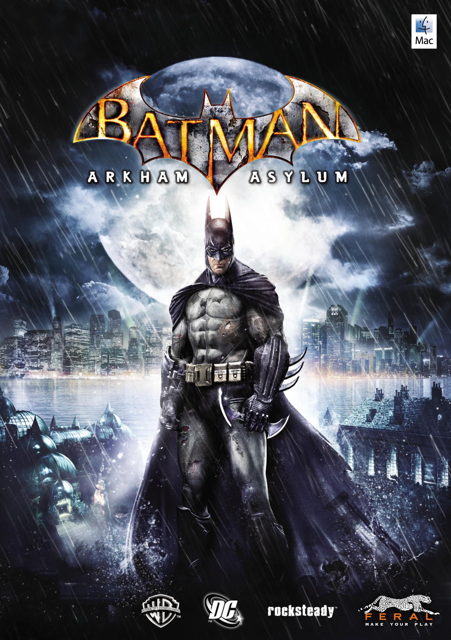 Batman: Arkham Asylum [MAC] (Цифровая версия)Сразитесь с самыми безумными психопатами Готэма, включая Харли Квинн, Убийцу Крока и Ядовитого Плюща в игре Batman: Arkham Asylum.<br>