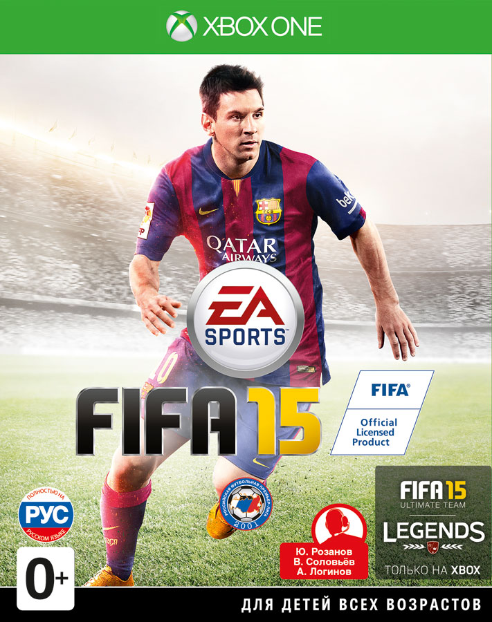 FIFA 15 [Xbox One] electronic arts fifa17 ult team fifa 2200