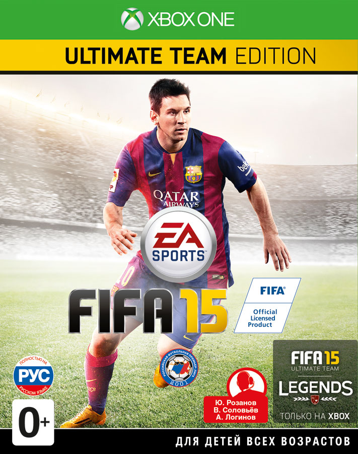 FIFA 15. Ultimate Edition [Xbox One]