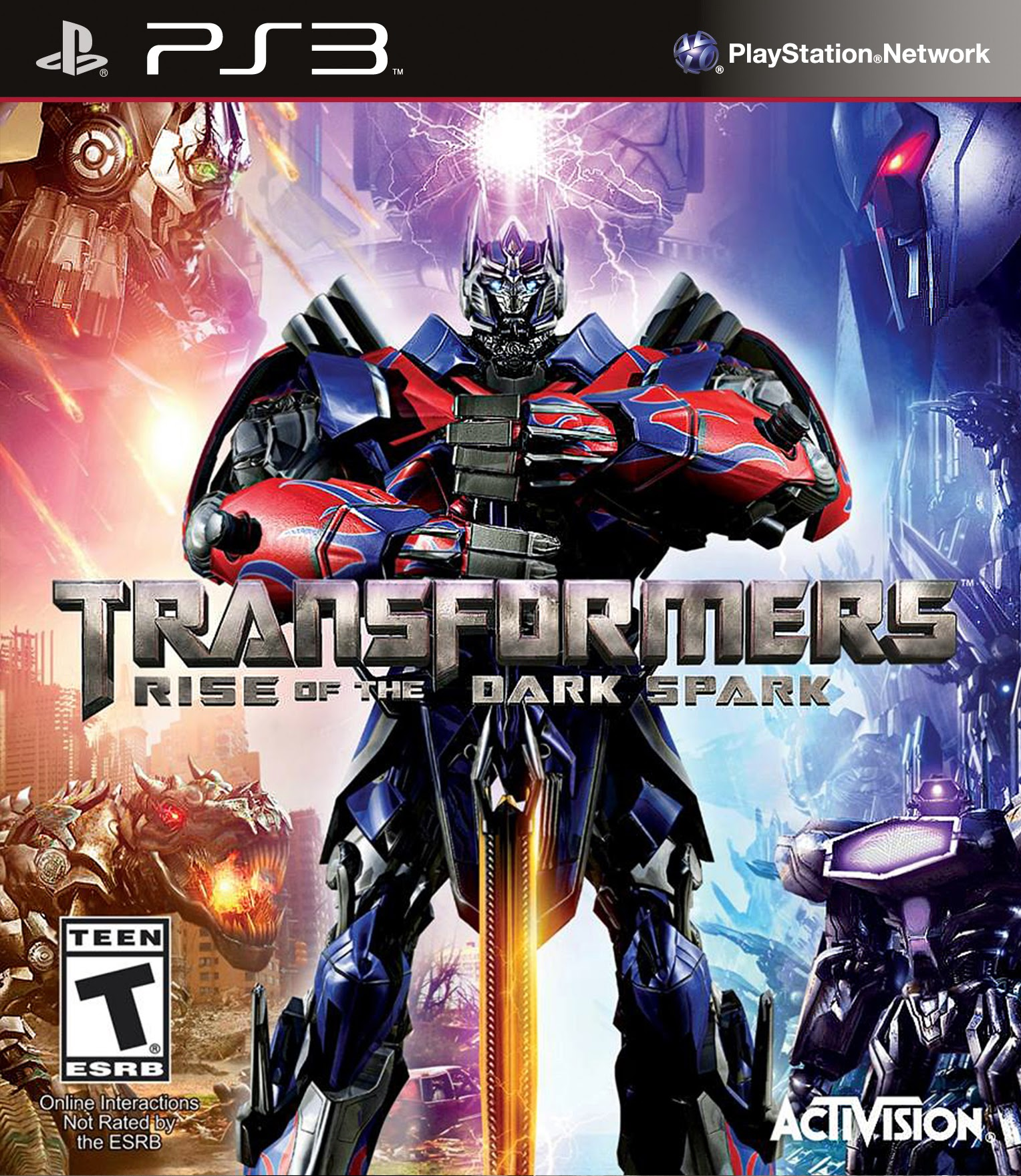 Трансформеры. Битва за Темную Искру [PS3]
