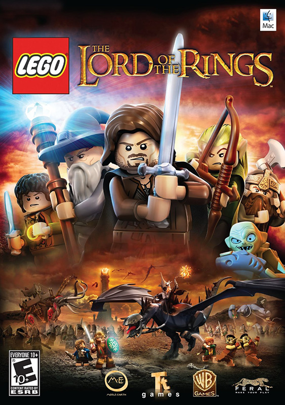 LEGO The Lord of the Rings [MAC] (Цифровая версия)Игра LEGO Властелин Колец создана по мотивам кинотрилогии Питера Джексона &amp;laquo;Властелин колец&amp;raquo; &amp;ndash; «Властелин колец: Братство кольца», «Властелин колец: Две башни» и «Властелин колец: Возвращение короля».<br>