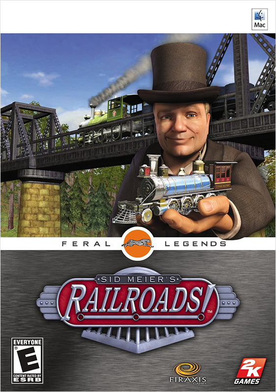 Sid Meiers Railroads! [MAC] (Цифровая версия)Постройте железнодорожную империю для своей державы с игрой Sid Meiers Railroads!<br>