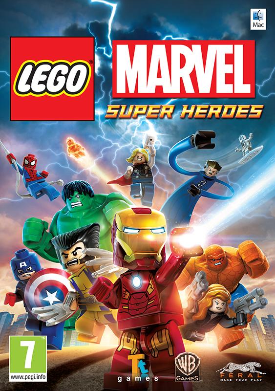 LEGO Marvel Super Heroes [MAC] (Цифровая версия)LEGO Marvel Super Heroes – это совершенно новая история в знаменитой вселенной Marvel. Железного Человека, Человека-паука, Халка, Капитана Америку, Росомаху и десятки других, не менее знаменитых супергероев объединила общая цель.<br>
