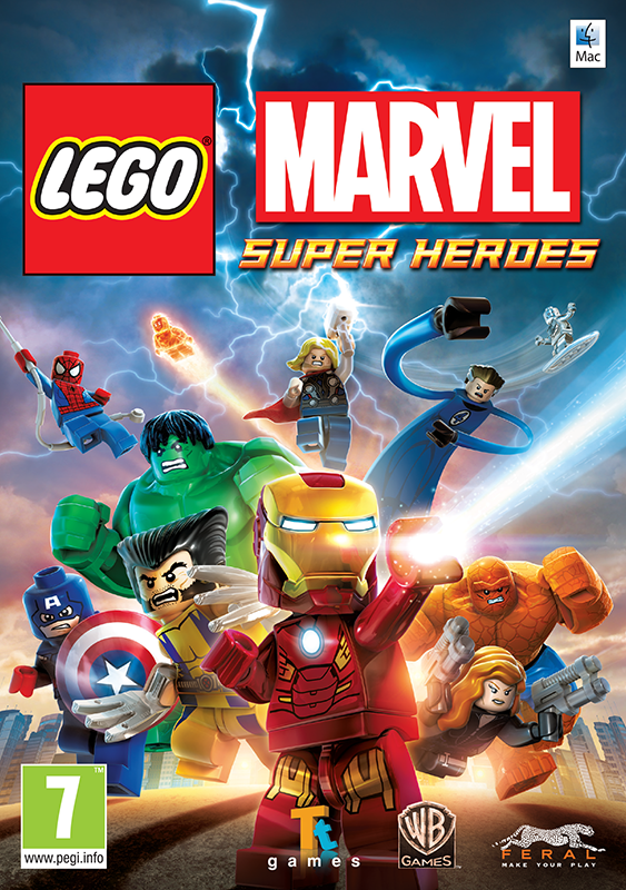 LEGO Marvel Super Heroes [MAC, цифровая версия] (Цифровая версия) конструктор lego marvel super heroes подводная атака железного черепа 76048
