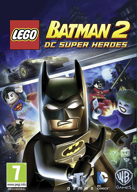 LEGO Batman 2 DC Super Heroes [PC, Цифровая версия] (Цифровая версия) lego marvel super heroes 2 [pc цифровая версия] цифровая версия
