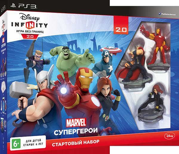 Disney Infinity 2.0. Marvel. Стартовый набор [PS3]В игре Disney Infinity 2.0. Marvel вы встретитесь со знаменитыми супергероями, выполните множество увлекательных заданий на игровых аренах, а также сможете создать собственные приключения.<br>