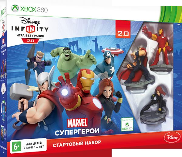Disney Infinity 2.0. Marvel. Стартовый набор [Xbox 360]