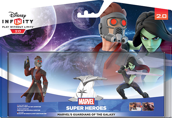 Disney Infinity 2.0. Marvel. Набор 2 1: Стражи Галактики [PS3 / PS4 / Xbox 360 / Xbox One]