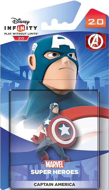 Disney Infinity 2.0. Marvel. Интерактивная фигурка персонажа Капитан Америка [PS3 / PS4 / Xbox 360 / Xbox One]