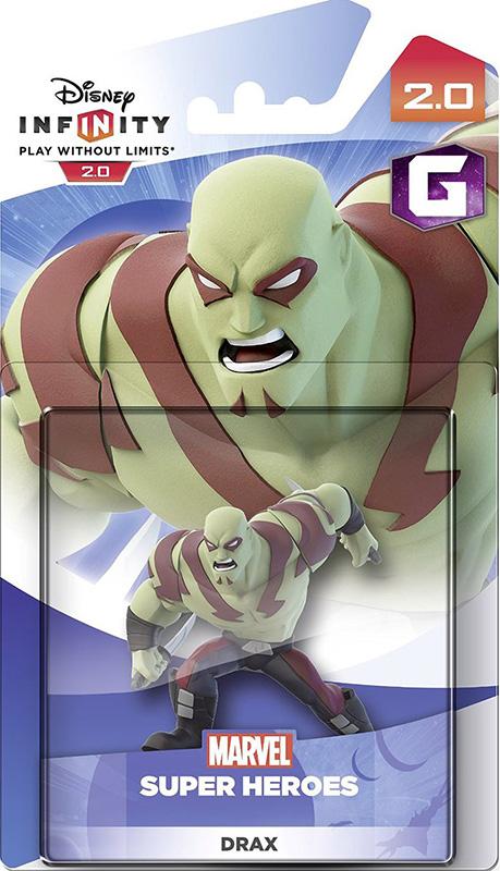 Disney Infinity 2.0. Marvel. Интерактивная фигурка персонажа Дракс [PS3 / PS4 / Xbox 360 / Xbox One]Disney Infinity 2.0. Marvel. Интерактивная фигурка персонажа Дракс позволяет задействовать нового персонажа в игровом наборе Disney Infinity – супергероя Дракса.<br>