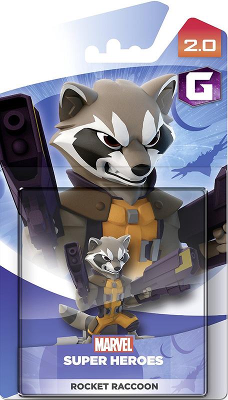 Disney Infinity 2.0. Marvel. Интерактивная фигурка персонажа Енот Ракета [PS3 / PS4 / Xbox 360 / Xbox One]