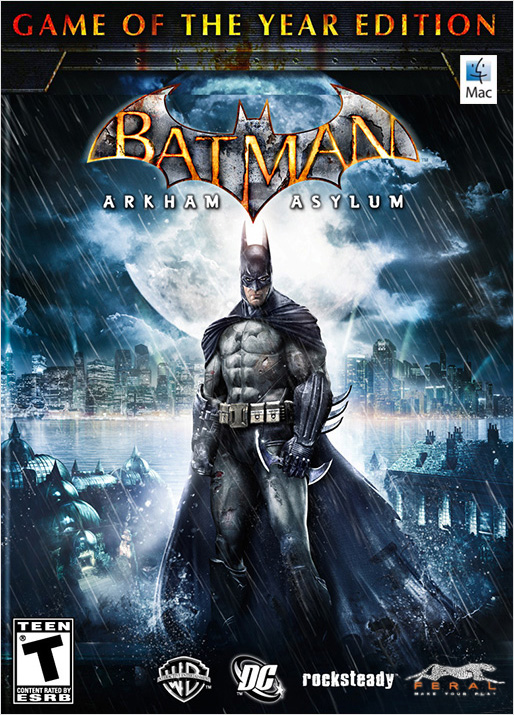 Batman: Arkham Asylum. Game of the Year Edition [MAC, цифровая версия] (Цифровая версия) overwatch game of the year edition [ps4]