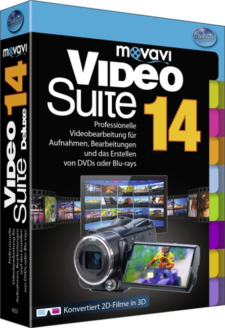 Movavi Video Suite 14. Бизнес лицензия