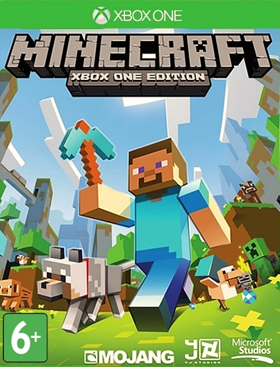 Minecraft [Xbox One]Создайте свой уникальный мир, ограничиваясь лишь своим воображением в игре Minecraft.<br>