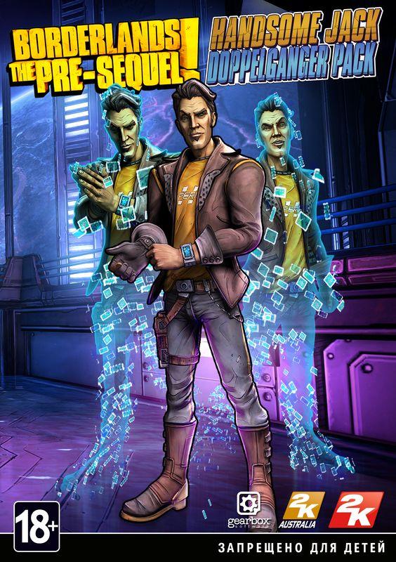 Borderlands: The Pre-Sequel. Набор «Двойник Красавчика Джека». Дополнение  лучшие цены на игру и информация о игре
