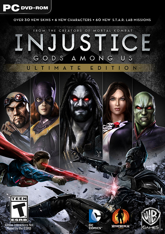 Injustice: Gods Among Us Ultimate Edition (Цифровая версия) injustice gods among us year four vol 2
