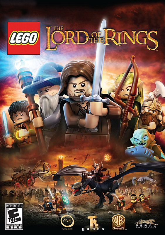 LEGO The Lord of the Rings [PC, Цифровая версия] (Цифровая версия) толстовка wearcraft premium унисекс printio властелин колец lord of the rings