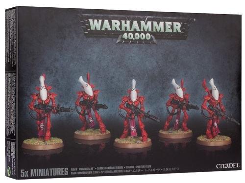 Набор миниатюр Warhammer 40,000. Eldar Wraithguard eldar wave serpent scatter laser turret