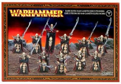 Набор миниатюр Warhammer 40,000. Dark Elf Har Ganeth ExecutionersПредставляем набор миниатюр Warhammer 40,000. Dark Elf Har Ganeth Executioners. Палачи Хар Ганета &amp;ndash; одни из самых пугающих подразделений темных эльфов.<br>